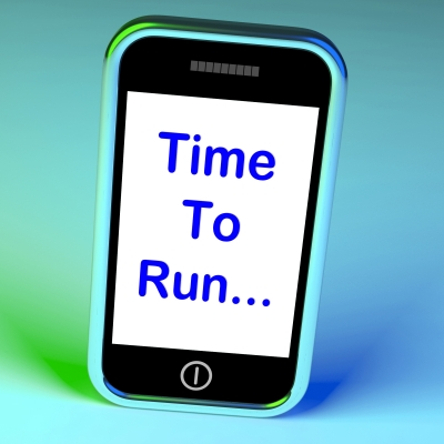 "Image, ""Time To Run Smartphone Means Short On Time And Rushing,"" courtesy of Stuart Miles, from http://www.freedigitalphotos.net/"